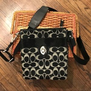 COACH Canvas Monogram Messenger - 43457